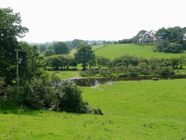 Afon Teifi south of Tregaron, Ceredigion