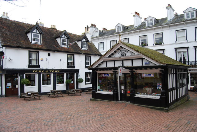 Information Centre & Duke of York, The Pantiles