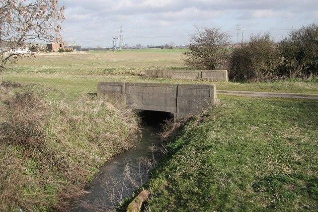North Beck Drain bridge