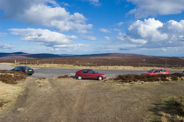 Cairn o' Mount car park