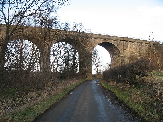 Almond  Valley viaduct