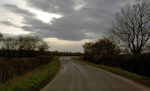 Around the bend to Upton....