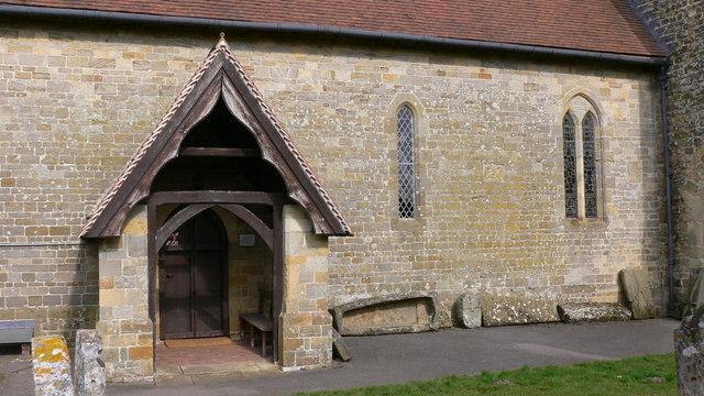 Porch of Stedham church