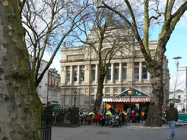The Old Library, The Hayes, Cardiff.