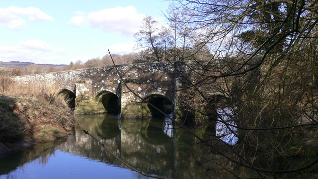 Woolbeding Bridge over the Rother