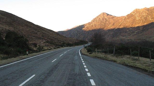 A87, Glen Shiel
