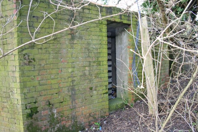 Door to the pillbox
