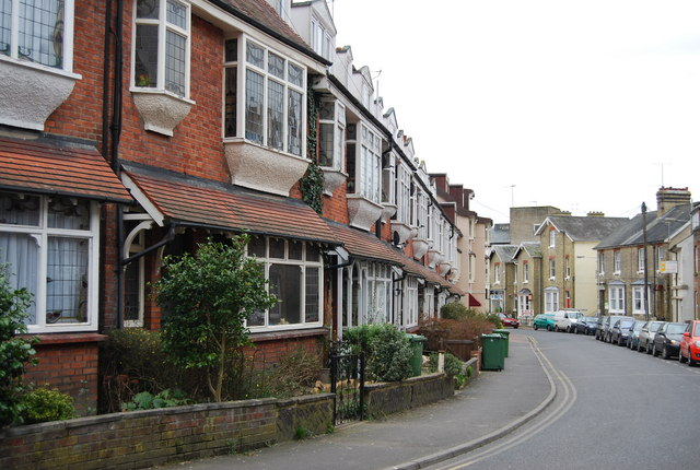 Terraced houses, Lime Hill Rd