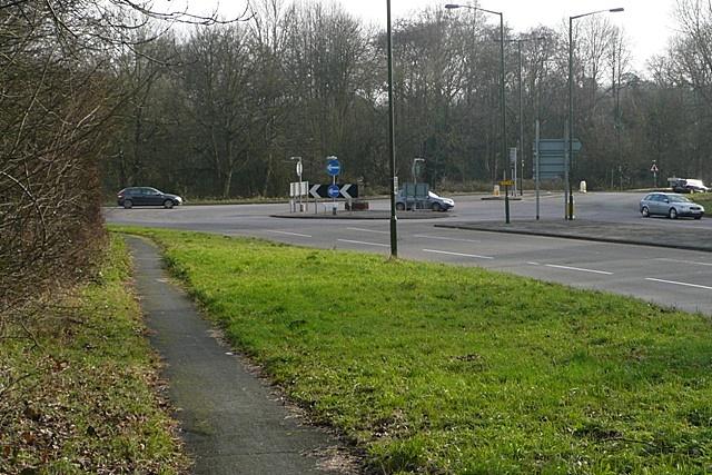 Sandleford roundabout