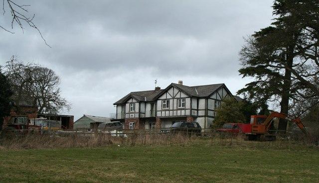 Mock Tudor Scrap Yard