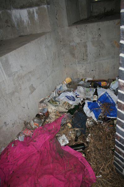 Rubbish in the box