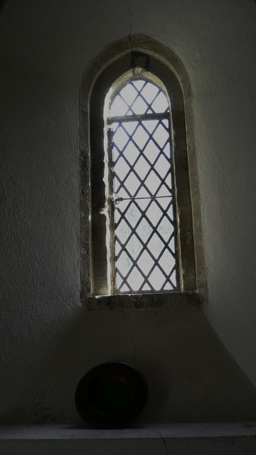 South facing window in Chithurst church