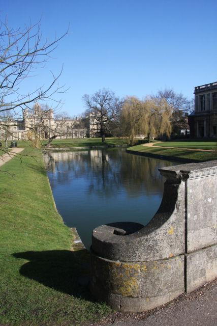 River Cam from Trinity College bridge