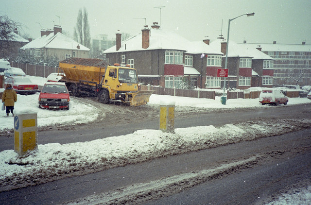 Forest Hill Road - Winter 1991