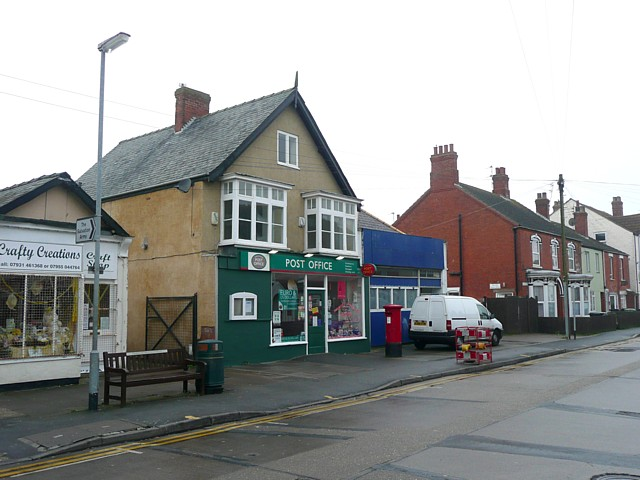 The post office, Mablethorpe