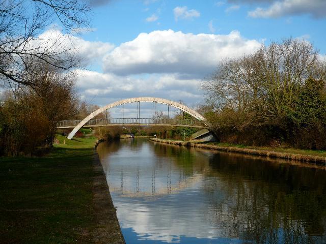Canal bridge on the Paddington Arm