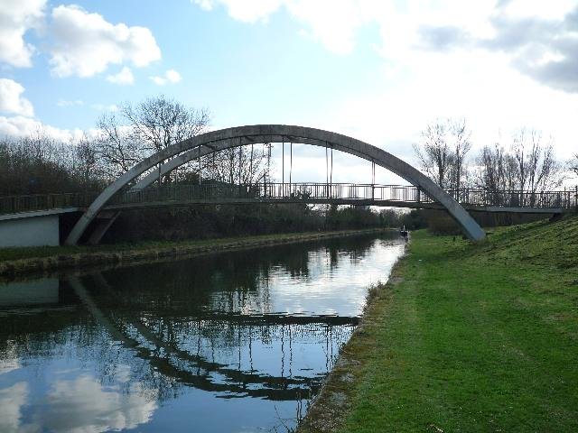 Canal bridge on the Paddington Arm