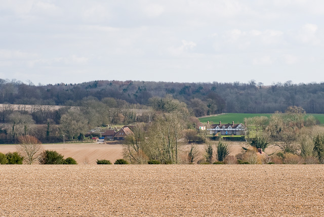 View towards Mays Farm from Forest Copse