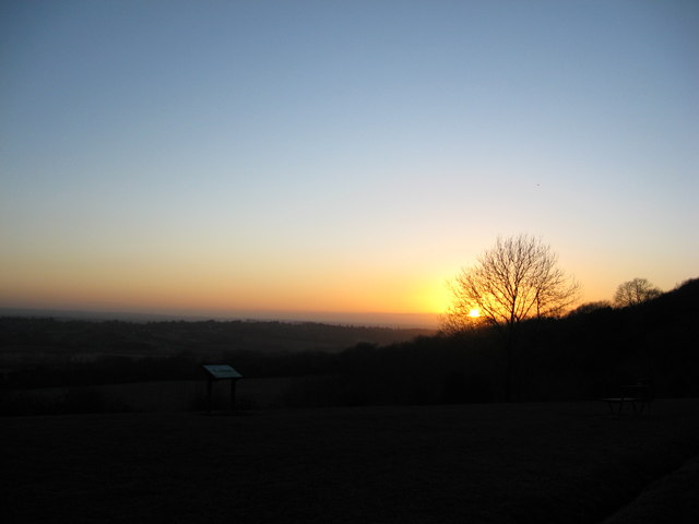Sunset from Caterham Viewpoint