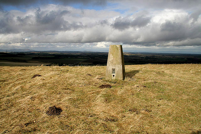Soutra Hill trig point