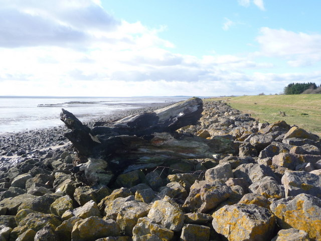 St. Brides Wentlooge: Severn estuary foreshore