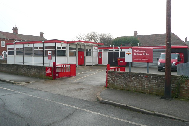 Post office delivery office, Mablethorpe