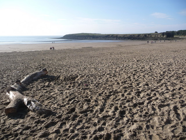 Barry Island: Whitmore Bay sands