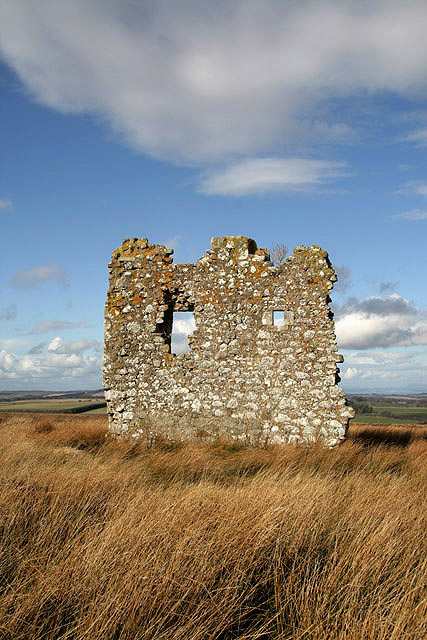 The remains of Fala Luggie Tower