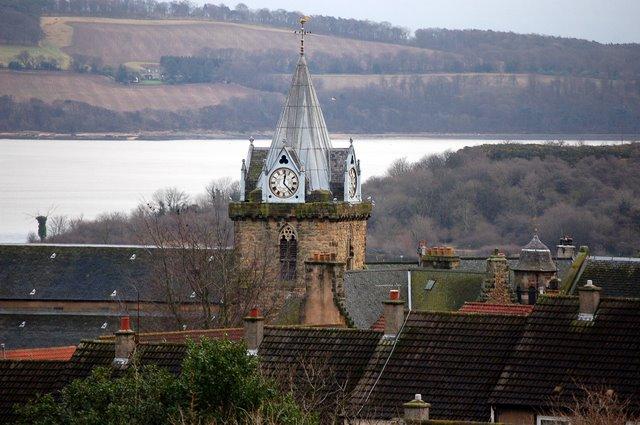 Church tower Inverkeithing
