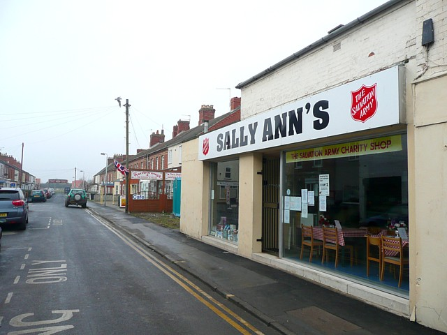 Salvation Army shop, Mablethorpe