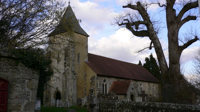 Trotton church