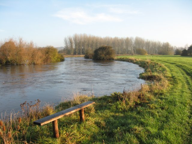 Full river at Bear Mead