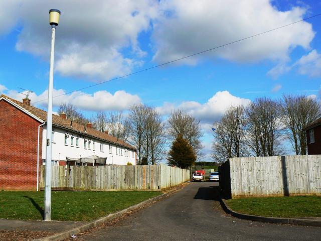 Access road, Little Park Close, Lyneham
