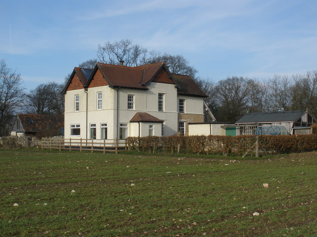 Isolated house, on North Down