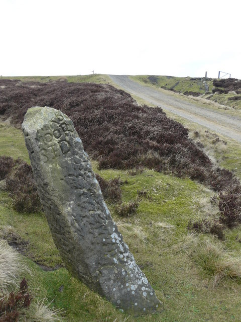 Guidepost at Bloworth Crossing