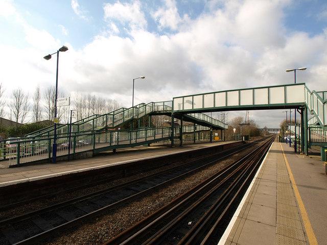 Brough Station's Footbridge
