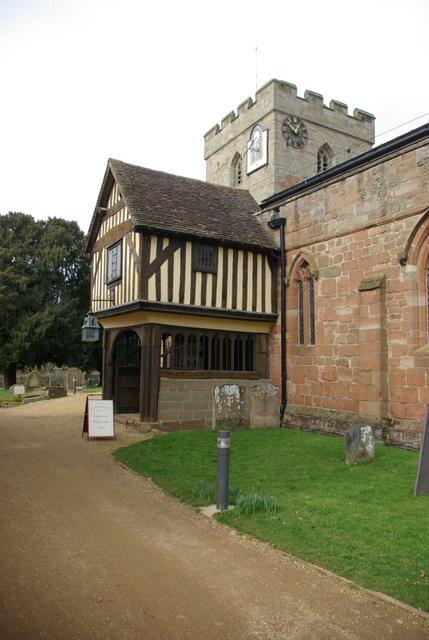 Entrance to St John the Baptist's Church, Berkswell