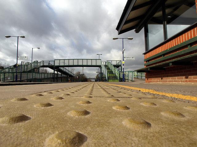 The lowdown on Brough Station Platform
