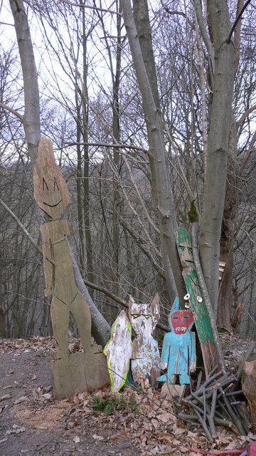 Effigies in Wick Wood
