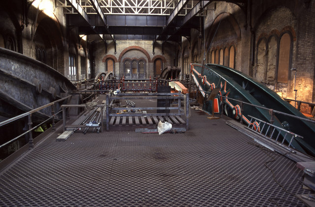 The beam floor, Crossness Pumping Station