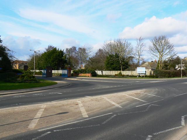 Main entrance, RAF Lyneham