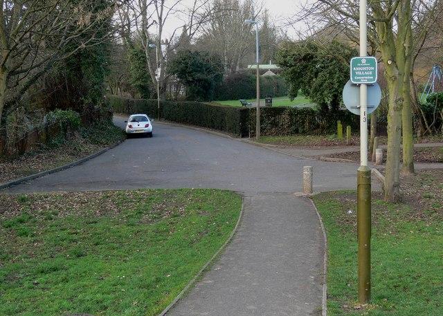 Knighton Village conservation area