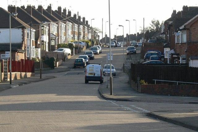 Lamborne Road in West Knighton, Leicester