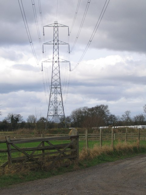 Stoke Heath, Electricity Pylons
