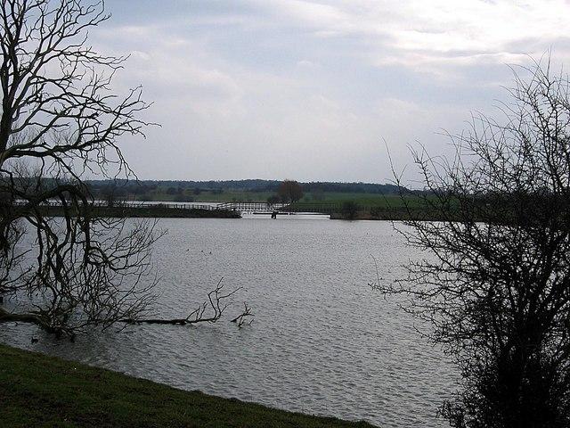 Western section of Hurworth Burn Reservoir