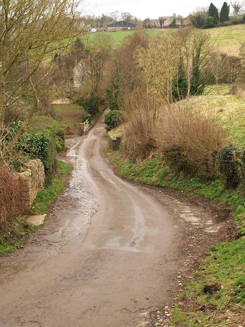 Lane to Foxcote