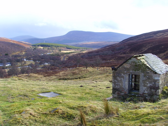 Old bothy at Learable