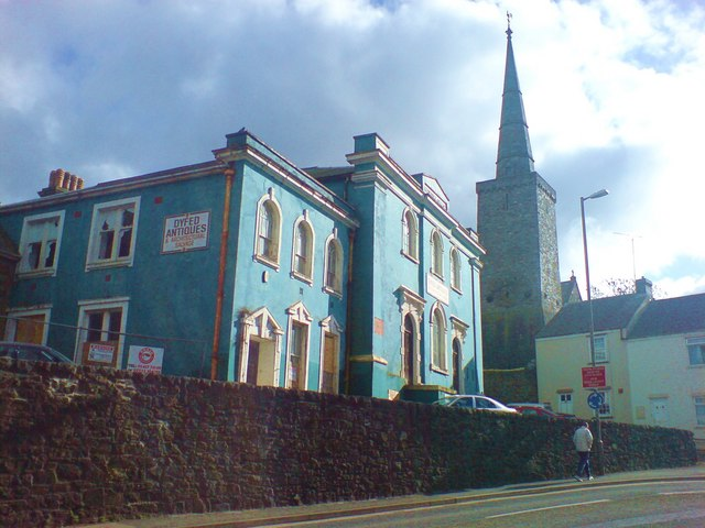 Wesleyan Chapel and St Martin's Church
