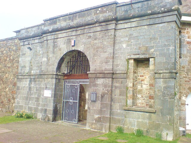 Entrance to the Records Office in the former gaol