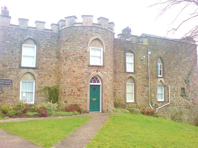 Haverfordwest Museum in the former Prisoner Governors House